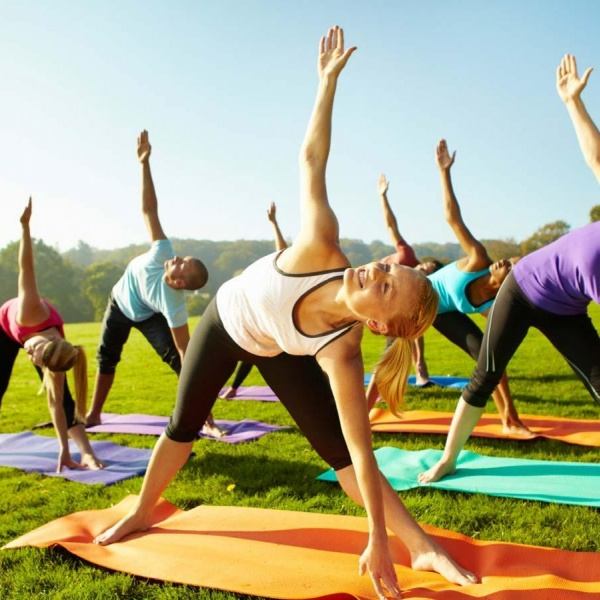 Outdoor Yoga Fitness