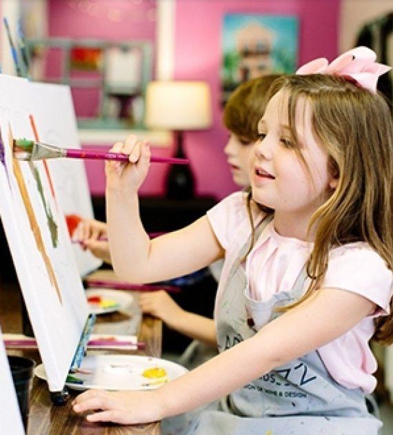 Kid Painting Newsletter